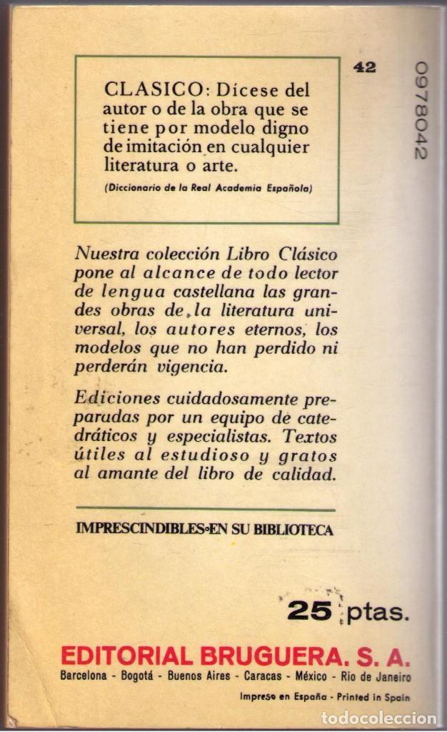 Libros de segunda mano: COMEDIAS. AULULARIA. ANFITRION. RUDENS. PLAUTO. BRUGUERA. 1968.. - Foto 2 - 68716581