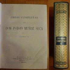 Libros de segunda mano: MUÑOZ SECA, PEDRO. OBRAS COMPLETAS DE DON PEDRO MUÑOZ SECA. TOMO II. Lote 68810113