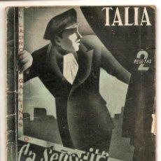Libros de segunda mano: LA SEÑORITA PIGMALION - ADOLFO TORRADO - COLECCION TALÍA Nº 49. Lote 68813429