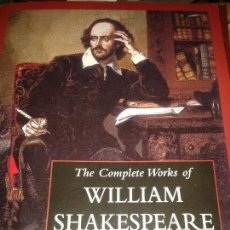 Libros de segunda mano: THE COMPLETE WORKS OF WILLIAM SHAKESPEARE. Lote 69056405