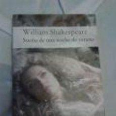 Libros de segunda mano: SUEÑO DE UNA NOCHE DE VERANO -WILLIAM SHAKESPEARE. Lote 70574721