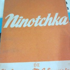 Libros de segunda mano: NINOTCHKA M. LEYGEN & M. G. SAUVAJON EDIT ALFIL AÑO 1953. Lote 71176029