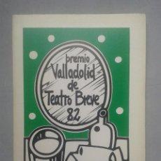 Libros de segunda mano: PREMIO VALLADOLID DE TEATRO BREVE. AÑO 1982. 2 OBRAS: LAS CANÍBALES Y LÁUDANO EN LOS LABIOS.. Lote 71906015