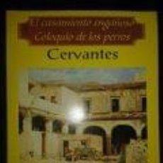 Libros de segunda mano: EL CASAMIENTO ENGAÑOSO Y COLOQUIO DE LOS PERROS -CERVANTES- TEATRO-BIBLIOTECA POPULAR CLASICOS- PREA. Lote 73561551