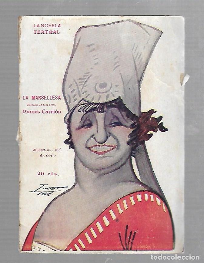 LA NOVELA TEATRAL. LA MARSELLESA. RAMOS CARRION. 1918. AÑO III. Nº 90 (Libros de Segunda Mano (posteriores a 1936) - Literatura - Teatro)