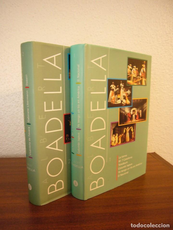ALBERT BOADELLA 1 I 2 (INCLOU 11 OBRES) INSTITUT DEL TEATRE, 2002 I 2007. PERFECTE ESTAT. MOLT RAR. (Libros de Segunda Mano (posteriores a 1936) - Literatura - Teatro)