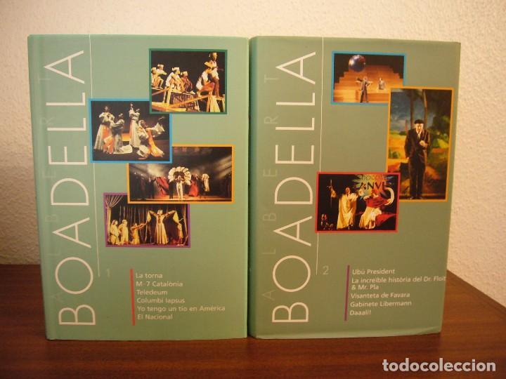 Libros de segunda mano: ALBERT BOADELLA 1 I 2 (INCLOU 11 OBRES) INSTITUT DEL TEATRE, 2002 I 2007. PERFECTE ESTAT. MOLT RAR. - Foto 2 - 75130547