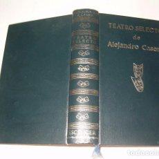 Libros de segunda mano: ALEJANDRO CASONA. TEATRO SELECTO. RMT78854. . Lote 75306655