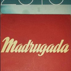 Libros de segunda mano: MADRUGADA EPISODIO DRAMATICO DE A.BUERO VALLEJO. COLECCIÓN TEATRO N°96- ALFIL 1952. Lote 75984061