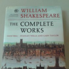 Libros de segunda mano: THE COMPLETE WORKS OF WILLIAM SHAKESPEARE.. Lote 76575051