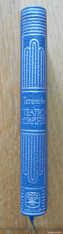 TEATRO COMPLETO PUBLIO TERENCIO AFER, CRISOL AGUILAR, NUMERO 104 (Libros de Segunda Mano (posteriores a 1936) - Literatura - Teatro)