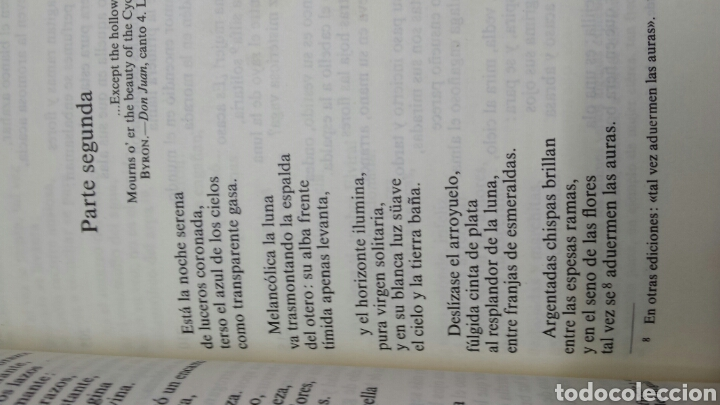 Libros de segunda mano: Libro El Estudiante de Salamanca de Espronceda año 90 - Foto 3 - 78398125