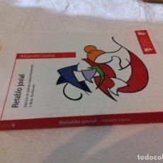 Libros de segunda mano: RETRATO JOVIAL-ALEJANDRO CASONA-BIBLIOTECA CLASICA BRUÑO-2011. Lote 78481281