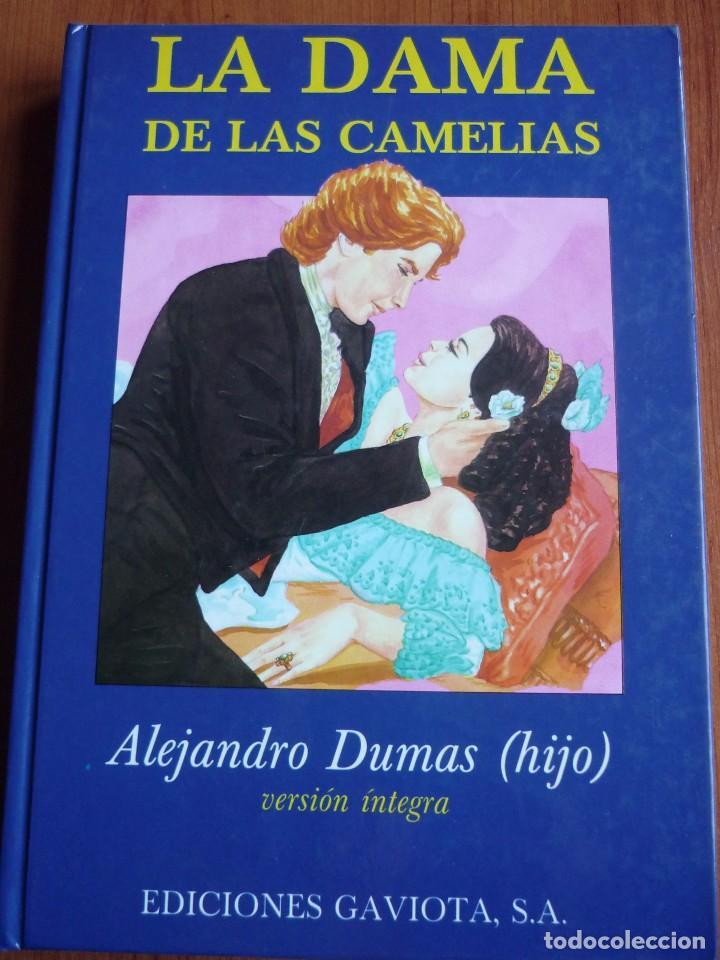 LA DAMA DE LAS CAMELIAS - TAPA DURA *IMPECABLE* (Libros de Segunda Mano (posteriores a 1936) - Literatura - Teatro)