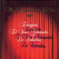 Libros de segunda mano: TEATRO ESPAÑOL - ZARZUELA - MIGUEL RAMOS IZQUIERDO. Lote 80499245