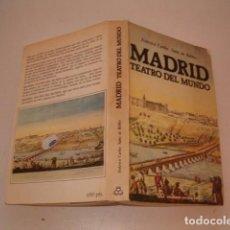 Libros de segunda mano: FEDERICO CARLOS SAINZ DE ROBLES. MADRID, TEATRO DEL MUNDO. RMT79531. . Lote 81091116