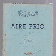 Libros de segunda mano: AIRE FRIO. TRES ACTOS. VIRGILIO PIÑERA. AÑO I. ESCENA CUBANA. Nº 3. NOVIEMBRE 1959. LA HABANA. Lote 81873128