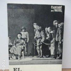 Libros de segunda mano: EL TEATRO, HOY (DOCE CRÓNICAS) - DOMÉNECH, RICARDO . Lote 82450840