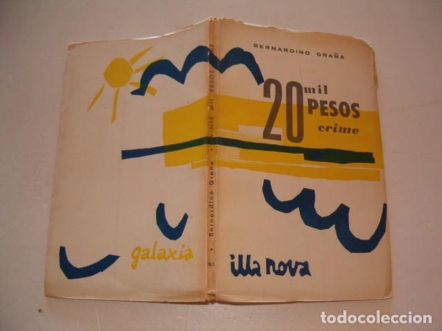 BERNARDINO GRAÑA. 20 MIL PESOS CRIME. PEZA DRAMÁTICA EN CINCO CADROS. RM79839. (Libros de Segunda Mano (posteriores a 1936) - Literatura - Teatro)