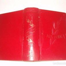 Libros de segunda mano: JEAN BAPTISTE POQUELIN - MOLIÈRE. OBRAS INMORTALES. RM79859. . Lote 83147136