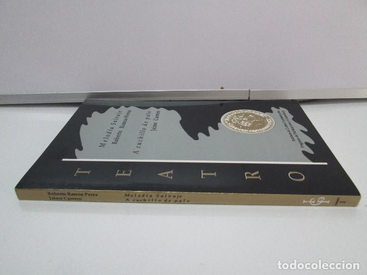 Libros de segunda mano: MELODIA SALVAJE. ROBERTO RAMOS PEREA. A CUCHILLO DE PALO. JAIME CARRERO. VER FOTOGRAFIAS - Foto 2 - 84462452