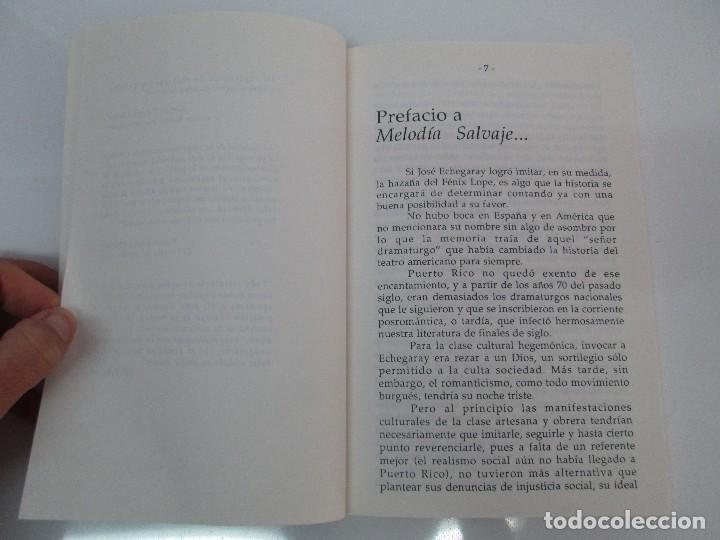 Libros de segunda mano: MELODIA SALVAJE. ROBERTO RAMOS PEREA. A CUCHILLO DE PALO. JAIME CARRERO. VER FOTOGRAFIAS - Foto 8 - 84462452