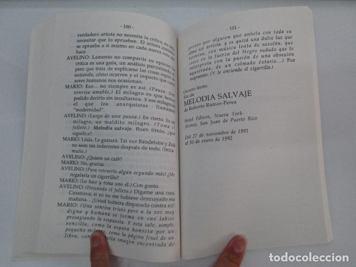Libros de segunda mano: MELODIA SALVAJE. ROBERTO RAMOS PEREA. A CUCHILLO DE PALO. JAIME CARRERO. VER FOTOGRAFIAS - Foto 13 - 84462452