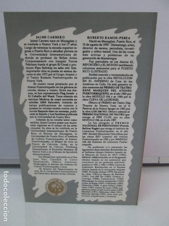 Libros de segunda mano: MELODIA SALVAJE. ROBERTO RAMOS PEREA. A CUCHILLO DE PALO. JAIME CARRERO. VER FOTOGRAFIAS - Foto 17 - 84462452