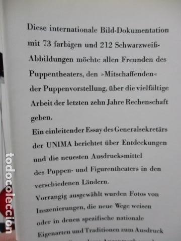 Libros de segunda mano: Figur und Spiel im Pupentheater der Welt (Alemán) de Publikationskommission der UNIMA (Hrsg.) - Foto 8 - 84556532