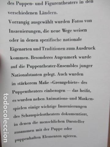 Libros de segunda mano: Figur und Spiel im Pupentheater der Welt (Alemán) de Publikationskommission der UNIMA (Hrsg.) - Foto 9 - 84556532