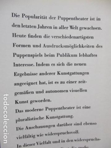 Libros de segunda mano: Figur und Spiel im Pupentheater der Welt (Alemán) de Publikationskommission der UNIMA (Hrsg.) - Foto 28 - 84556532