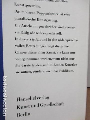 Libros de segunda mano: Figur und Spiel im Pupentheater der Welt (Alemán) de Publikationskommission der UNIMA (Hrsg.) - Foto 29 - 84556532