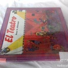 Libros de segunda mano: EL TEATRO-PETER K. ALFAENGER-ED EVEREST-1984-MUY ILUSTRADO-VER FOTOS. Lote 86953304