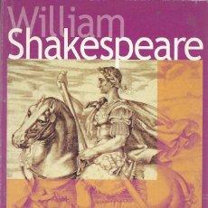 Libros de segunda mano: JULIO CÉSAR, WILLIAM SHAKESPEARE -EDICIÓN BILINGÜE-. Lote 104243084