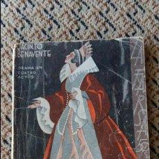 Libros de segunda mano: LA VESTAL DE OCCIDENTE. JACINTO BENAVENTE. LA FARSA, 1934. DRAMA EN 4 ACTOS. Lote 87420008