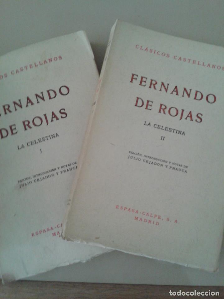 LA CELESTINA .FERNANDO DE ROJAS (Libros de Segunda Mano (posteriores a 1936) - Literatura - Teatro)