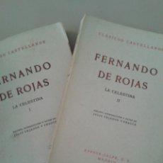 Libros de segunda mano: LA CELESTINA .FERNANDO DE ROJAS. Lote 87491804