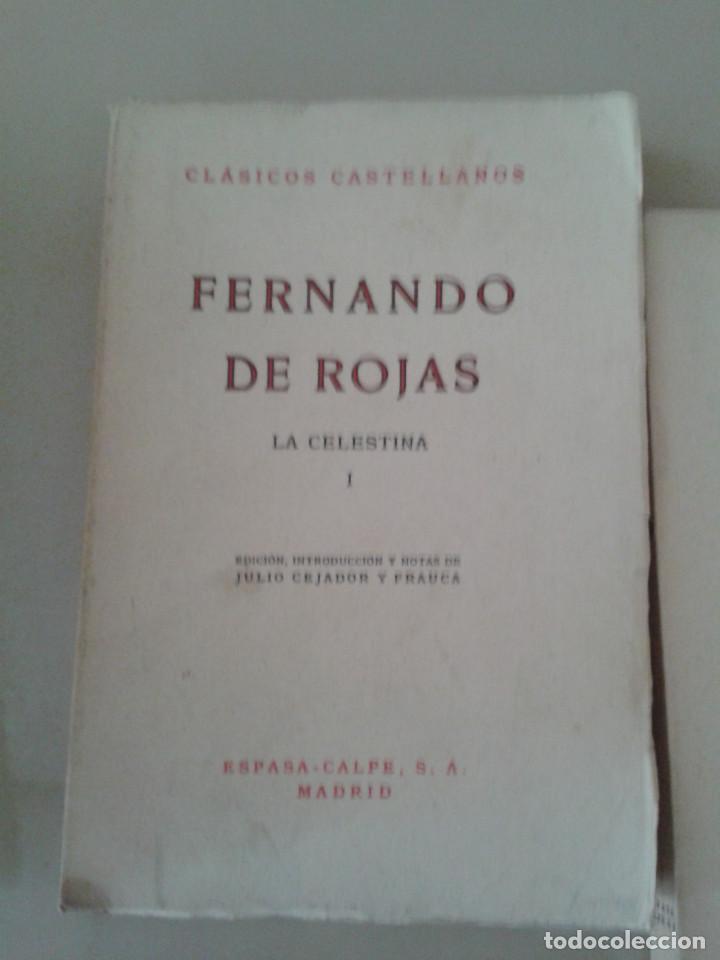 Libros de segunda mano: LA CELESTINA .FERNANDO DE ROJAS - Foto 2 - 87491804
