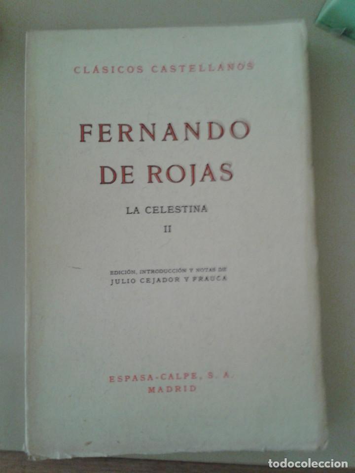Libros de segunda mano: LA CELESTINA .FERNANDO DE ROJAS - Foto 3 - 87491804