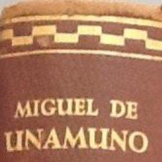 Libros de segunda mano: MIGUEL DE UNAMUNO. TEATRO COMPLETO. Lote 89607148