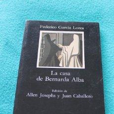 Libros de segunda mano: LA CASA DE BERNARDA ALBA-FEDERICO GARCIA LORCA. Lote 181226276