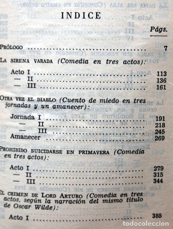 Libros de segunda mano: ALEJANDRO CASONA - AGUILAR - JOYA - MEXICO - OBRAS COMPLETAS - TOMO I - PIEL - Foto 5 - 90813935