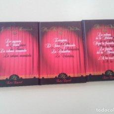 Libros de segunda mano: LOTE 3 TOMOS TEATRO-AMANTES DE TERUEL/LA VERBENA DE LA PALOMA/EL SEÑOR GOBERNADOR-ED. RUEDA-2004-TAP. Lote 90990015