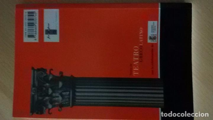 Libros de segunda mano: TEXTOS DE TEATRO GRECOLATINO: BACCHIDES (PLAUTO) - Foto 2 - 91243620