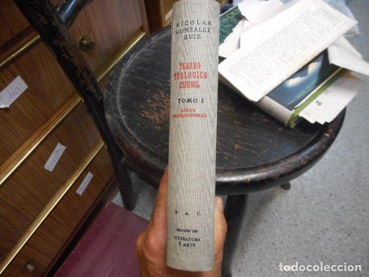 Libros de segunda mano: teatro teologico español como nuevo - Foto 2 - 91390940