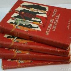 Libros de segunda mano: 1954 - SILVIO D'AMICO - HISTORIA DEL TEATRO UNIVERSAL - 4 TOMOS, COMPLETA. Lote 93031050