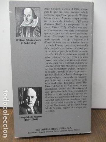 Libros de segunda mano: WILLIAM SHAKESPEARE - CIMBELÍ - PUBLICACIONS DE LINSTITUT DEL TEATRE / BRUGUERA, 1ª Edició 1982 - Foto 8 - 93054430