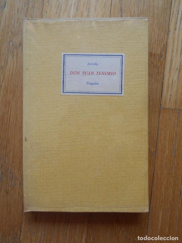 DON JUAN TENORIO, ZORRILLA, TRAGEDIA (Libros de Segunda Mano (posteriores a 1936) - Literatura - Teatro)