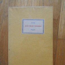 Libros de segunda mano: DON JUAN TENORIO, ZORRILLA, TRAGEDIA. Lote 93828625