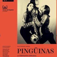 Libros de segunda mano: PINGÜINAS - FERNANDO ARRABAL. Lote 94016420